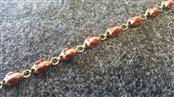 Gold Fashion Bracelet 10K Yellow Gold 3.3g